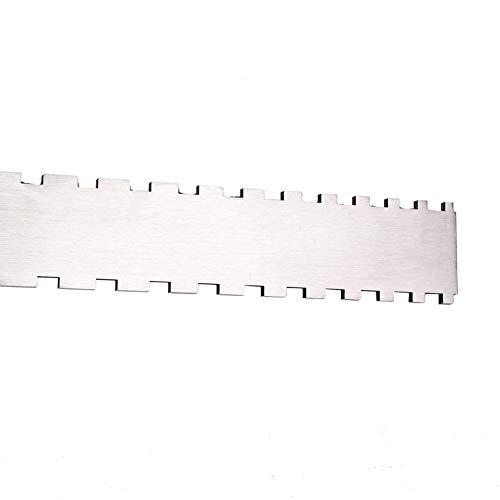 MSlongzc Durable Neck Gap Ruler Guitar Measuring Gauge Accurate Instrument Repair Tool ()