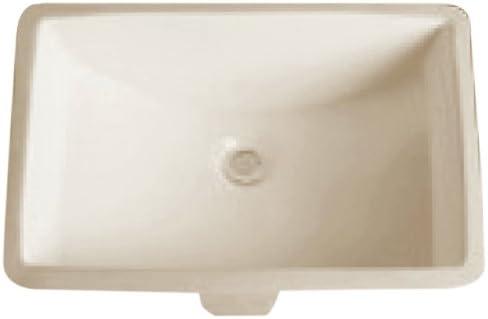 Dowell Undercounter Ceramic Lavatory Sink Biscuit 6003 2115B