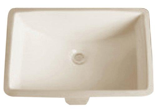 Dowell Undercounter Ceramic Lavatory Sink (Biscuit) 6003 2115B