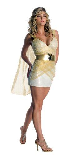 Secret Wishes Playboy Collection Goddess Costume, White, Medium]()