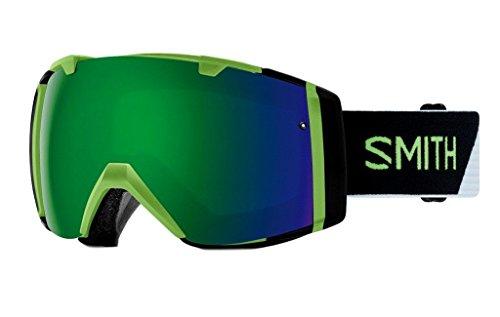 Smith Optics Adult I/O Snowmobile Goggles Reactor Split / ChromaPop Sun Green Mirror by Smith Optics