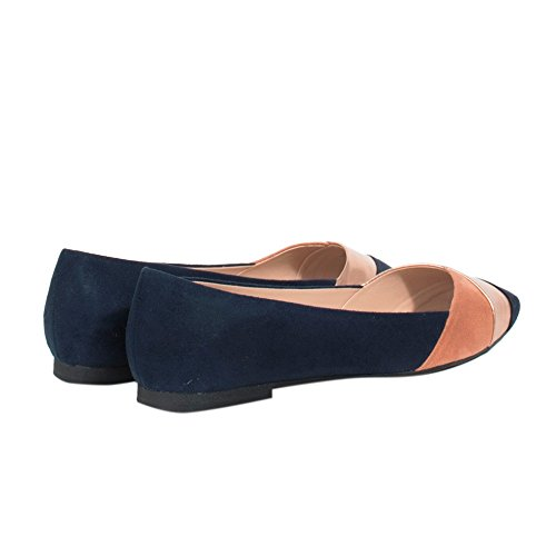 Parfois Tricolor Ballerinas - Women Navy mGJqImDhO