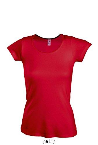 SOL´S Women T-Shirt Moody, Größe:XL, Farbe:Red