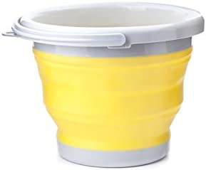 Collapsible Bucket コラプシブルバケツ (옐로우) / Collapsible Bucket Colurgable Bucket (Yellow)