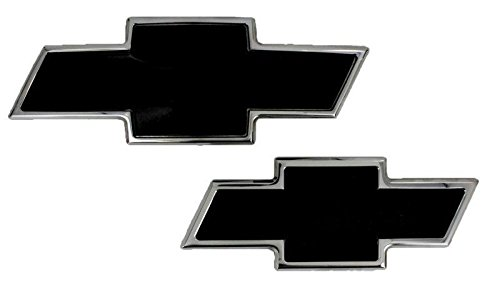 Tie Polished Bow Emblem - AMI - 96108KP - All Sales Chevy Bowtie Grille & Liftgate Emblem - Polished/Black Powdercoat
