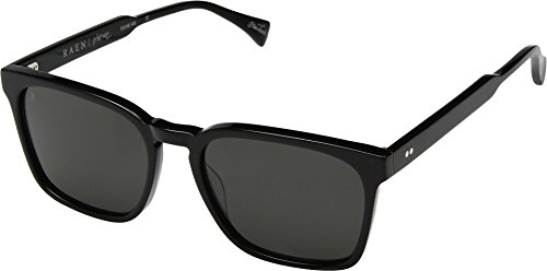 RAEN Optics Men's Pierce 55 Black/Dark Smoke One Size ()