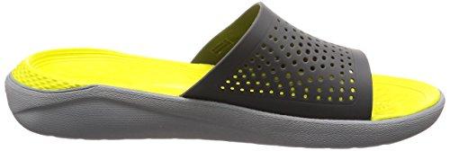 205183 Crocs Zapatilla Hombre 205183 Grey Crocs 8grznfEg