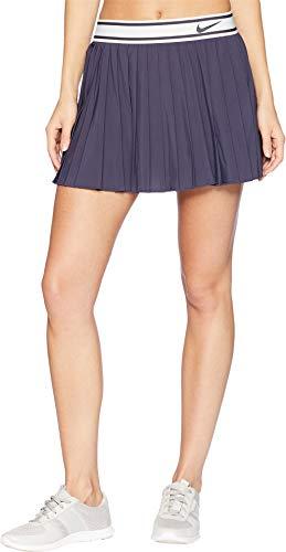 NIKE Women's Court Victory Skirt Gridiron/Gridiron X-Small - Nike Elastic Waist Skirt