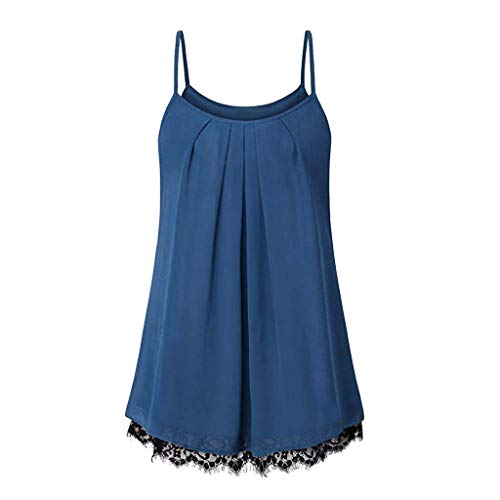 Plus Size Women Summer Vest, JOYFEEL Ladies Sale Sexy Loose Button Tank Tops V Neck Cami T-Shirt Casual Tunic Tops ()