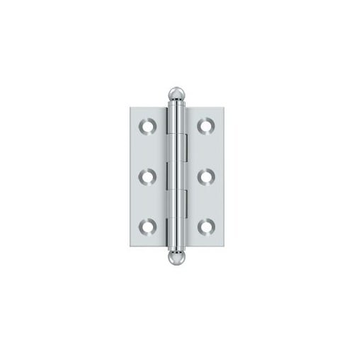 Hinges Cabinet Chrome (Deltana CH2517U26 - One Pair of Solid Brass 2 1/2