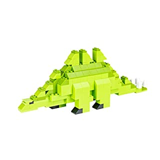 Strictly Briks - Stegosaurus Classic Briks Dinosaur Building Set - 191 Piece Toy - 100% Compatible with All Major Building Brick Brands