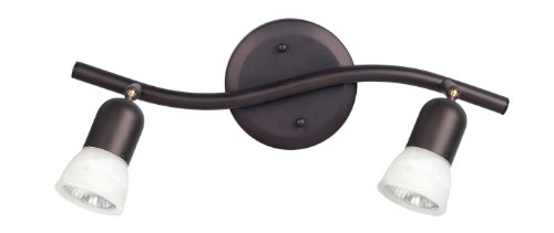 CANARM LTD. IT356A02ORB10 James 2 Bulb Track Light, Oil Rubbed Bronze
