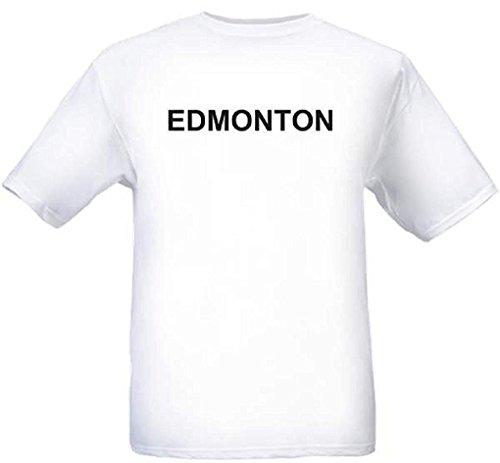 EDMONTON - City-series - White T-shirt - size Medium -