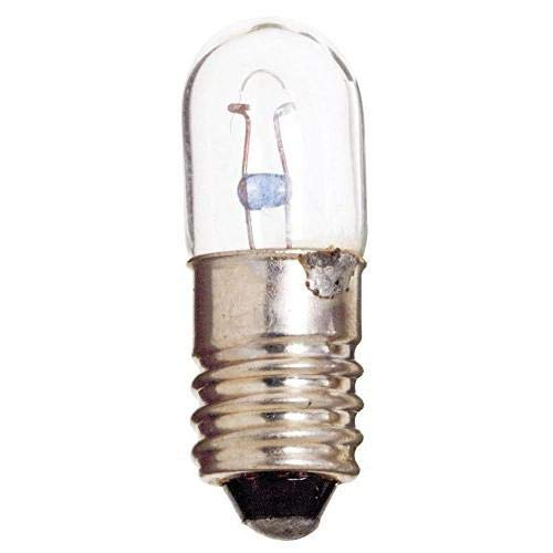 Norman Lamps 1487x60 Miniature Light Bulb, 14 Volts, 0.2 Amps, Degrees_Fahrenheit, to Volts, Amps, (Pack of 60)