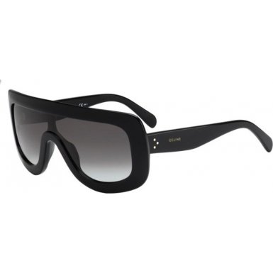 Celine 41377/S 807 Black 41377S Visor Sunglasses Lens Category 2 Size - Celine Mens Sunglasses