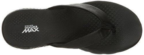 Skechers Women's on-The-Go 400-Essence Flip Flops Black/Black bT7VazxRtR