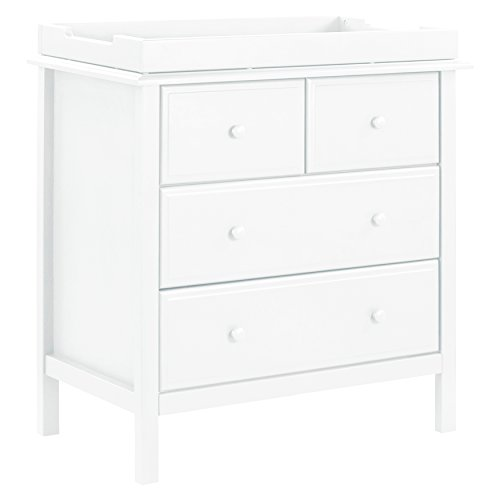 DaVinci Autumn 4-Drawer Changer Dresser with Removable Changing Tray, White by DaVinci