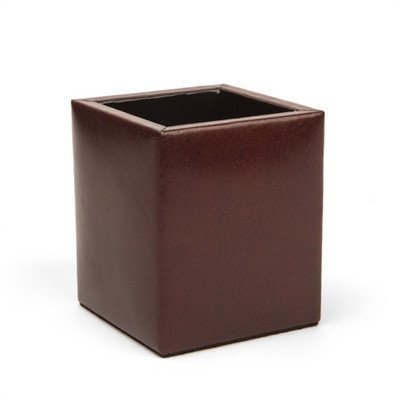 Bosca Old Leather Pencil Box (Dark Brown) by Bosca (Bosca Pencil Box)