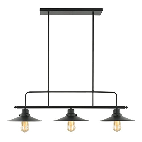 Black Globe Pendant Light in US - 3
