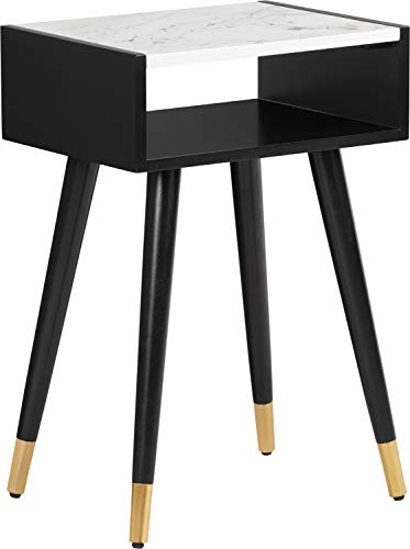 Elle Decor FUST10072A Clemintine Side Table Noir Black