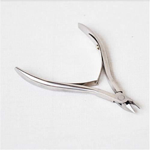 Nipper Clipper Cuticle Scissor Nail Art Stainless Steel Nipper Manicure Plier Cutter Tool 92Mm(Nipper) 5Mm(Cutter Point) as shown by BANGHELIN (Image #2)