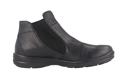 Romika Damen Stiefelette schwarz Schwarz