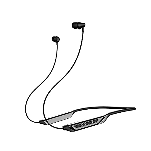 boAt Rockerz 375 with Beast™ Mode, Upto 20 Hours Battery, ASAP Charge, Bluetooth v5.1, Magnetic Earbuds, Type-c Interface & Voice Assistant(Active Black)