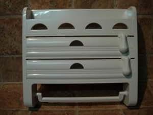 392 portarollo de cocina triple especiero porta rollo for Portarrollos de cocina