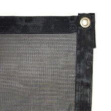 AJ Tools CHIT1791220 Black Shade Net 12 x 20