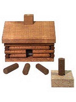Paine's Log Cabin Incense Burner [Paine's Log Cabin Incense Burner]