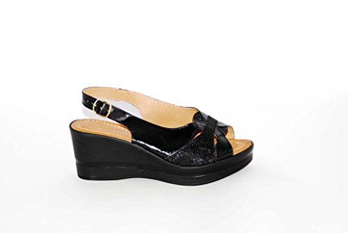 Sandalen Sandaletten aus Leder Schuhe Damen RIPA shoes - 09-88664