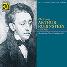 UPC 019688110123, The Young Arthur Rubinstein (1919-1924)