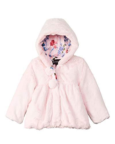 Rothschild Girls Coats - Rothschild Girls Kids Teddy Plush Jacket, 4T/L, Pink