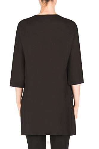 Lunga Ribkoff Joseph Giacca Style Nero Donna Black 183347 Jacket 6vZUHZqF