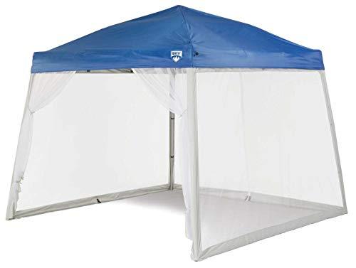 Quest 10 Ft. X 10 Ft. Mesh Screen for Slant Leg Instant Ez up Pop up Recreational Canopy Tent