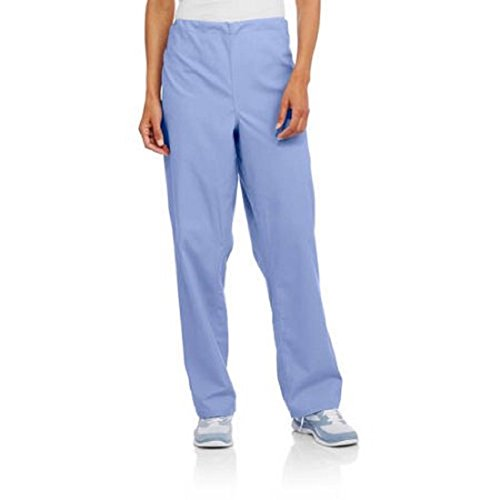 367 Scrubs Unisex Medical Scrub Pants With Pockets Drawstring Closure (Peri Blossom, 3X)