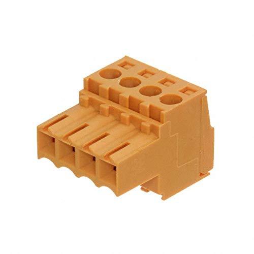 TERM BLOCK PLUG 4POS STR 3.5MM (Pack of 10)