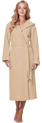 Cappuccio Style Donna Accappatoio Beige 3s4r3n4 Merry Con 48Rwnq