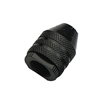 0.3-3.2mm Alloy Keyless Three-Jaw Drill Chuck Bit Adapter Converter Quick Change
