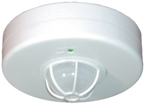 RAB Lighting LOS2500/120 Occupancy Sensor 2000W 120V Ceiling, White, Hardwired