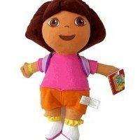"Juguete de peluche Dora The Explorer - 11 ""Animal de peluche de tamaño mediano Dora con la mochila Mr"