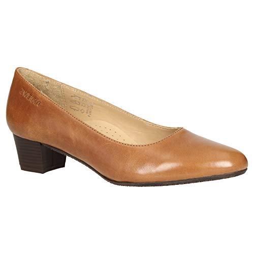 Zweigut femme talons pour cognac Smuck 213 à Chaussures zwzqxaTBH