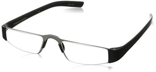 Porsche Design Men's Eyeglasses P'8801 P8801 A Black Reading Glasses 48MM ()