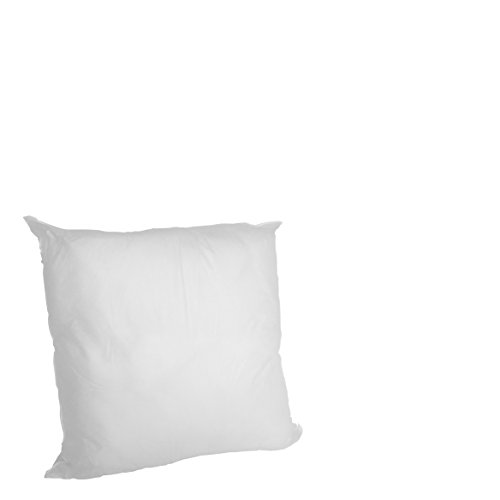 Set of 2 - 12 X 12 Premium Hypoallergenic Stuffer Pillow Insert Sham Square Form Polyester, Standard / White - MADE IN USA (Foam Inserts For Couches compare prices)