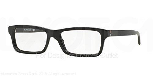 Amazon.com: Burberry Men\'s Eyewear Frames BE2187 53mm Black 3001 ...