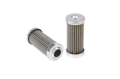 "Aeromotive 12616 Replacement Filter Element, 100-Micron Stainless Mesh, Fits All 1-1/4"" OD Filter Housings"