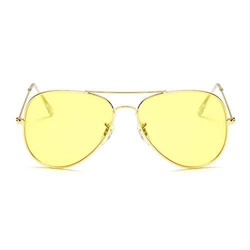 Rose Lunettes Fashion Murieo Style Couleur Frame de Alloy Unisexe 10 Rétro Casual soleil wqUZ7zq
