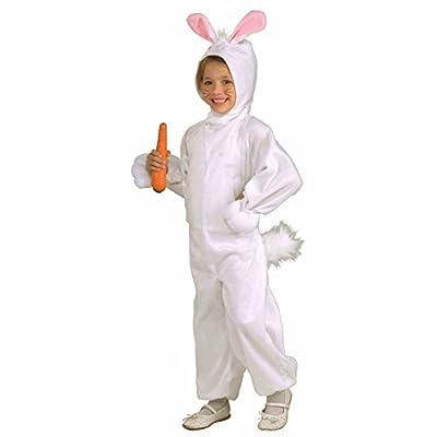 Forum Novelties Kids Fleece Bunny Rabbit Costume, Small, One Color: Toys & Games