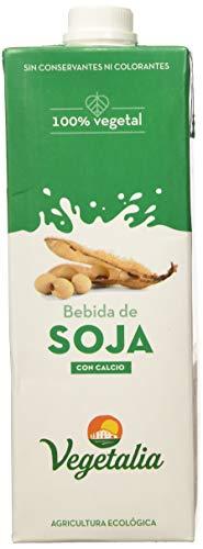 Vegetalia, Bebida de soja – 10 de 1000 ml. (Total 10000 ml.)