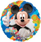 Disney Mickey Mouse Clubhouse Birthday Party Supplies Balloon 18 inch blue lime, Health Care Stuffs